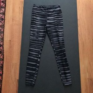 Nike striped legging size S